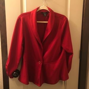 Size XL Style & Co Cotton Blazer Jacket.